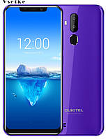"Oukitel C12 Pro 6.18"" 2GB RAM 16GB ROM 4G Android 8.1 3300 мАч Purple, фото 1"