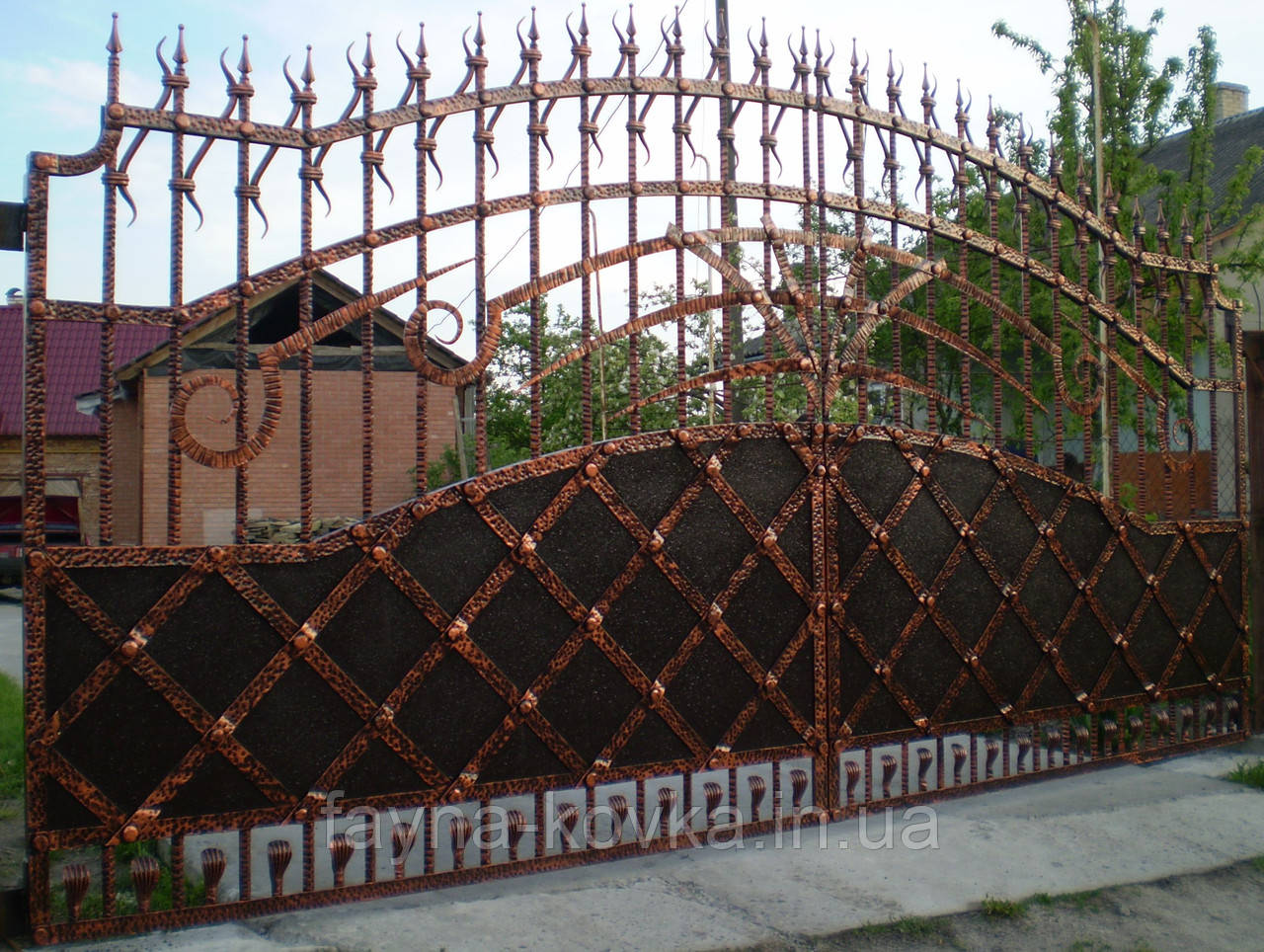 Кованые ворота 265