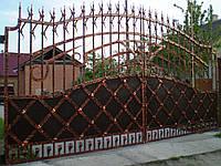 Кованые ворота 265, фото 1