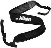 Плечевой ремень для фотоаппарата, видеокамеры (надпись Nikon) УЦЕНКА (Предоплата)
