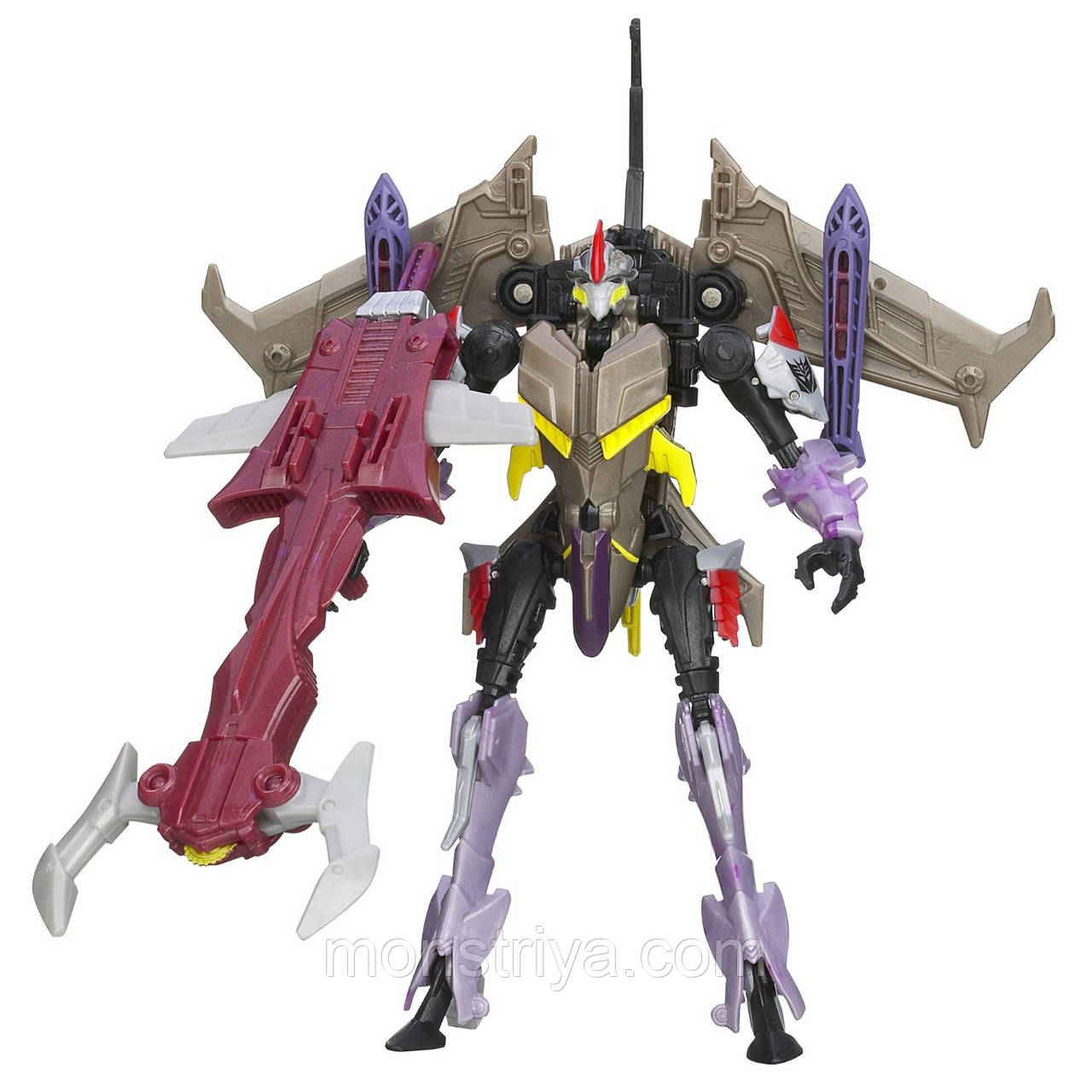 Transformers Робот Трансформер PRIME Beast Hunters Deluxe STARSCREAM
