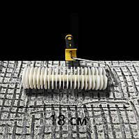 В014 - Структурный белый валик, фото 1