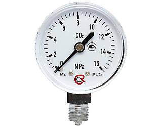 Манометр углекислотный 0-16МПа