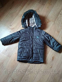 Курточка wojcik baby для мальчика! 104 см! б/у