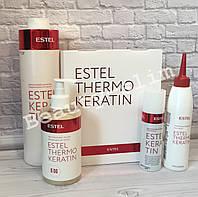 Набор + 1 литр шампунь + 250 мл шамп для процедуры ESTEL THERMOKERATIN  Термокератин