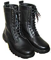 Ботинки-берцы кожаные на легкой подошве, фото 1