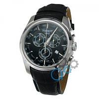 Tissot T-Classic Couturier Chronograph Black-Silver-Black