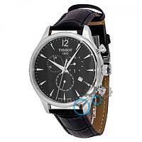 Tissot T-Classic Tradition Chronograph Black-Silver-Black