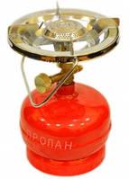 Примус - Газовая печка портативная с баллоном на 1.2 литра.