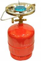 Примус - Газовая печка портативная с баллоном на 2.4 литра.