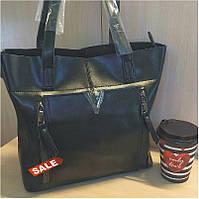 Кожаная сумка в черном KT32276 Копия Валентино, фото 1