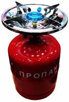 Примус - Газовая печка портативная с баллоном на 8 литров.