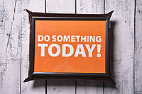 Поднос на подушке Сделай что-то сегодня