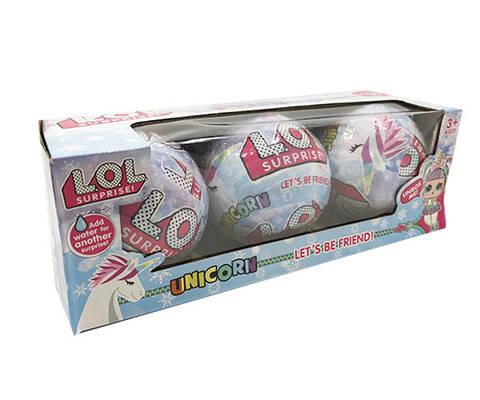 Кукла L.O.L Surprise Unicorn Единорог 3 шт в упаковке