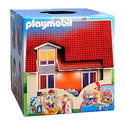"""Playmobil 5167 Конструктор Плеймобиль """"Переносной дом для кукол"""")"""