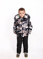 Комбинезон детский зимний Комбинезон для мальчика зимний Зимний костюм для мальчика Новинка 2019