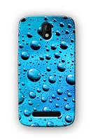 Чехол для HTC Desire 500 (Капельки)