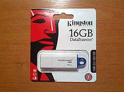 16GB Kingston Generation 4 USB 3.1 Гарантія!