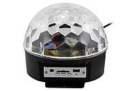 Диско шар  M-Light Music Ball Light mp3 светомузыка с пультом