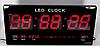 Электронные настольные часы CW 4622 Черный