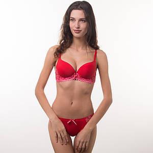 Комплект нижнего белья 75b, 80b, 85b красный 70461