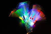 Светодиодная гирлянда 102 led кисточка разноцветная.