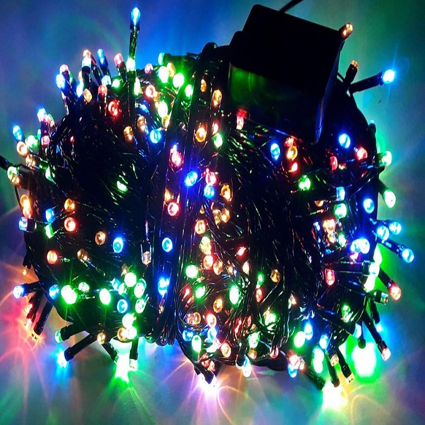 Гирлянда разноцветная 500 ламп.комнатная