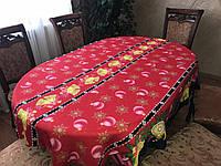 Скатерть новогодняя с колокольчиками, фото 1