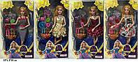 Лялька (кукла) 29 см ZQ20223-030/033/034 з аксесуарами 4 види в кор. 33*6,8*20 см