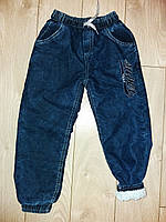 Теплые джинсы на мальчика махровые