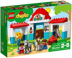"""Lego Duplo Набор для конструирования """"Конюшня на ферме"""" Town Farm Pony Stable 10868 Building Kit"""