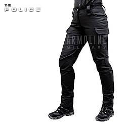 """Женские полицейские брюки """"POLICE"""" BLACK"""