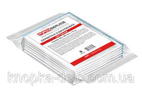 Салфетки PRO service из микрофибры универсальные Optimum 35х35 см 10 шт. белые