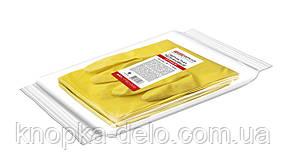 Перчатки PRO service латексные хозяйственные Optimum M 1 пара желтые