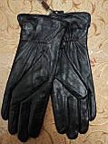Кожа натуральная с шерсти сетка женские перчатки только оптом, фото 4