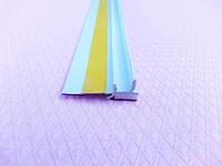 Профиль примыкающий оконный самоклеющийся без сетки с резиновой манжетой 2.5 м.п.