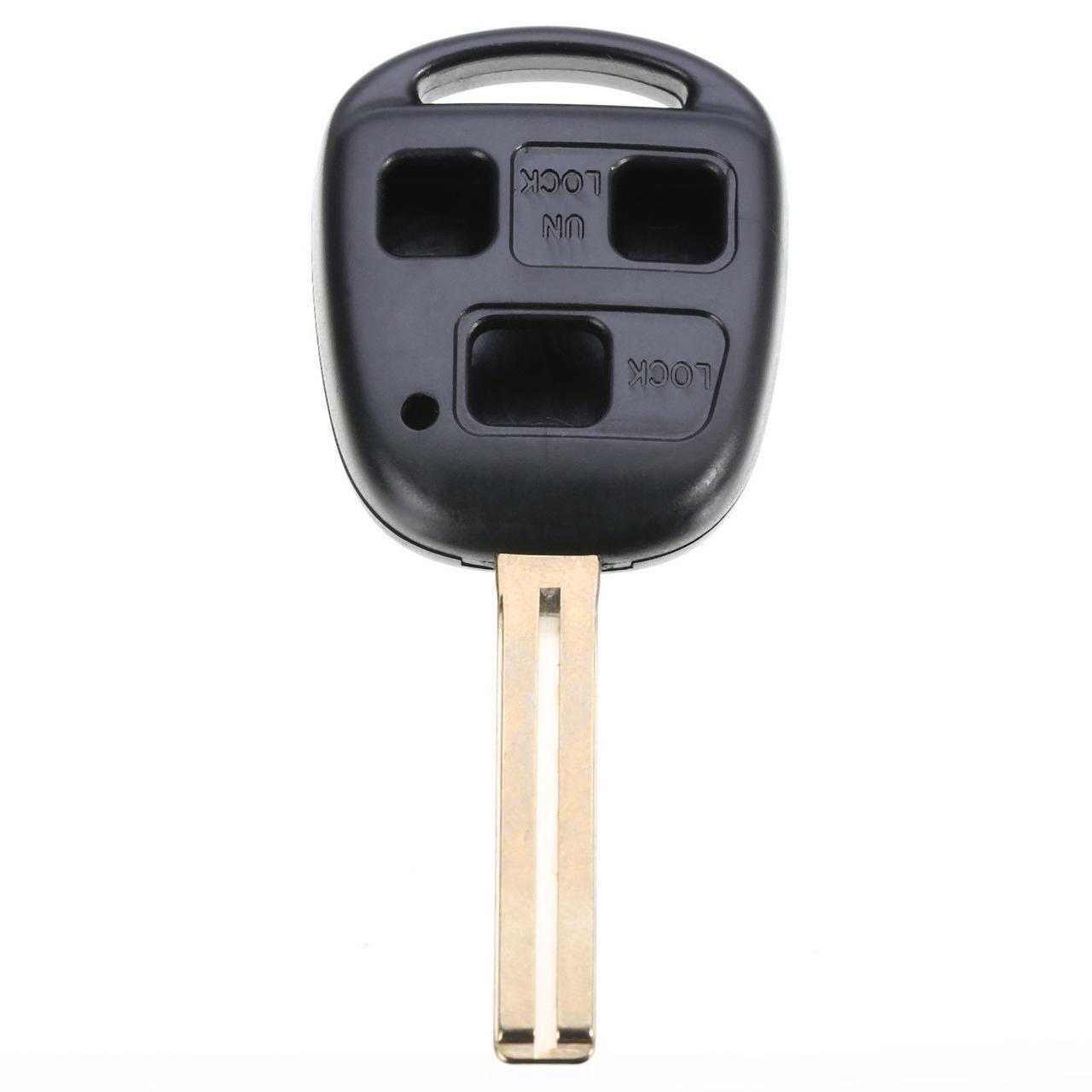 Корпус авто ключа  Lexus LS,GX 470,RC,IS,ES,GS,RX,LX,LC,SC,NX