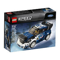 Lego Speed Champions Форд Фиеста Ford Fiesta M-Sport WRC 75885