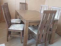 Стол деревянный обеденный БОСТОН ПРЕМИУМ +  для дома, ресторана, бара и кафе, для кухни дома