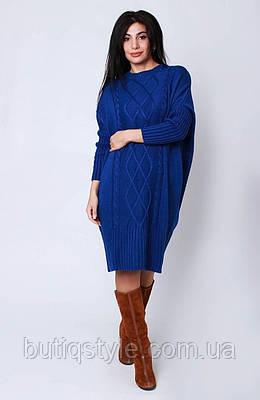 Вязанное женское платье Oversize