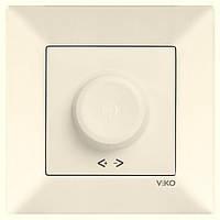 Диммер (светорегулятор) 600W (крем) Viko Meridian
