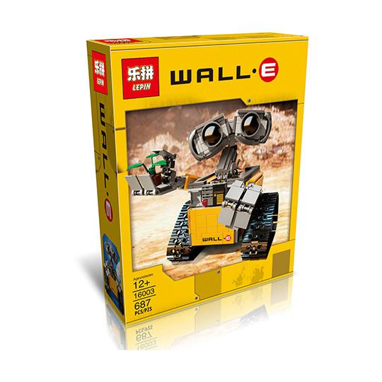 """Конструктор Lepin 16003 """"Робот ВАЛЛ-И"""" (аналог Lego Ideas 21303), 687 дет"""