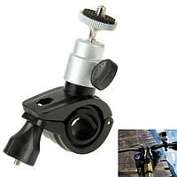 Кріплення на кермо для екшн камер action cameras пластик + метал MAC02 SKU0000984, фото 1