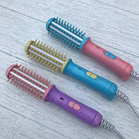 Расчестка hair curly mini мини плойка для завивки и выпрямления волос в пластиковом кейсе