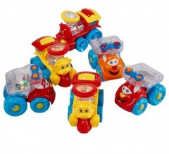 """Игрушка Huile Toys """"Мультяшная машинка"""" в ассортименте"""