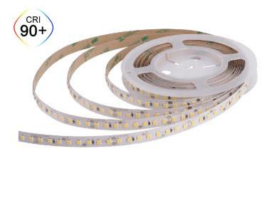Тепло белая 3000K CRI90 12Вт 24вольт светодиодная лента 2835-128-IP20-WW-10-24 RD00C8TC-A 10534