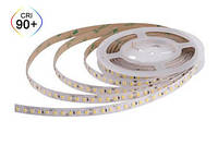 Тепло біла 3000K CRI90 12Вт 24вольт світлодіодна стрічка 2835-128-IP20-WW-10-24 RD00C8TC-A 10534
