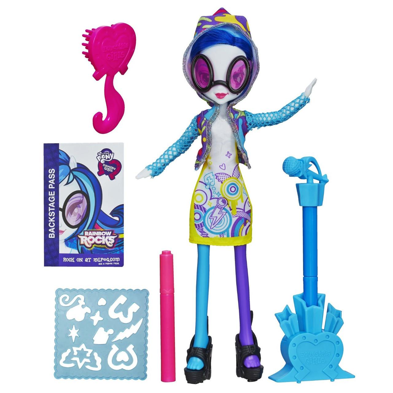 "My Little Pony Equestria Girls DJ Pon-3 із серії ""Rainbow Rocks"" (Кукла еквестрия  -  DJ Pon-3)"