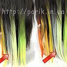 🍦 Цветные пряди волос белоснежно белые на заколках 🍦, фото 7
