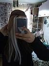 🍦 Цветные пряди волос белоснежно белые на заколках 🍦, фото 10